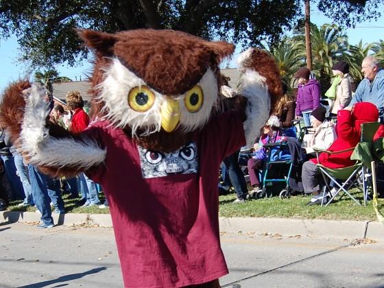 Chalmette High's Owl Mascot