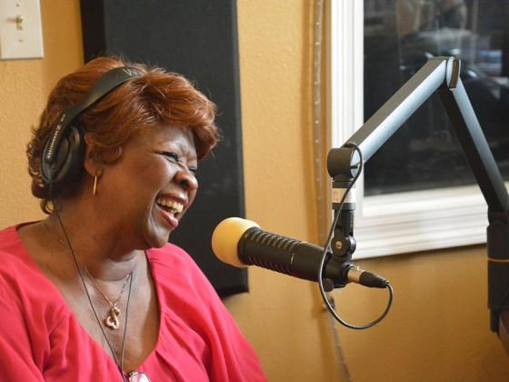 Irma Thomas at WWOZ