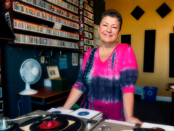 WWOZ General Manager Beth Arroyo Utterback.