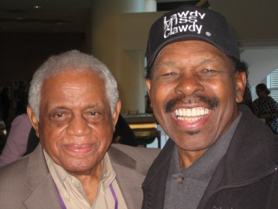 Eddie Ray and Lloyd Price in 2010 [Photo by Sally Young]