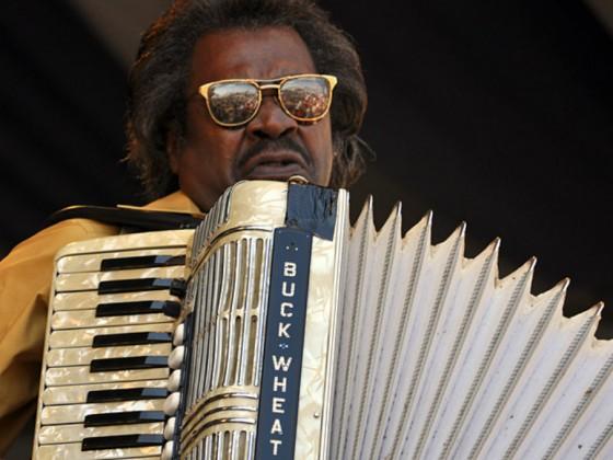Buckwheat Zydeco at Jazz Fest 2011 [Photo by Stafford]