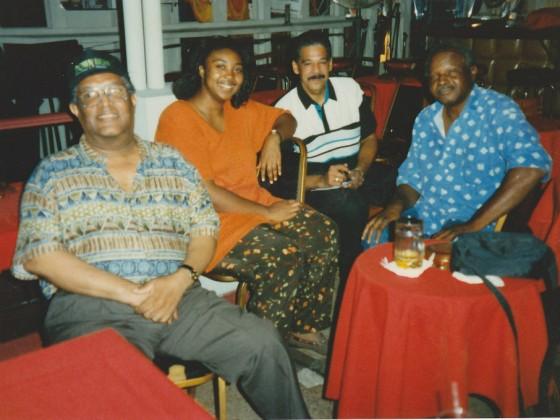 Clinton Scott, Porsche Williams, Jeff Duperon, and K Balewa in 1996