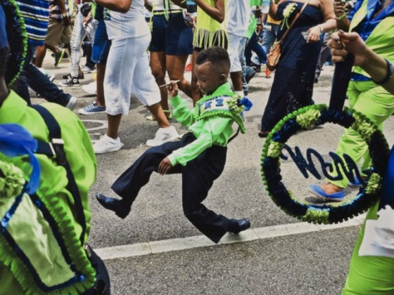 Dancing in the streets [Image courtesy of the Historic New Orleans Collection]