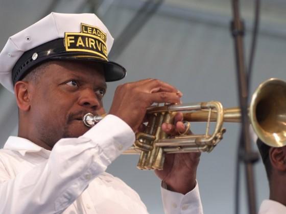 Leroy Jones at Jazz Fest 2009 [Photo by Leon Morris]