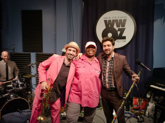 Flow Tribe with Irma Thomas [Photo by Ken Maldonado]