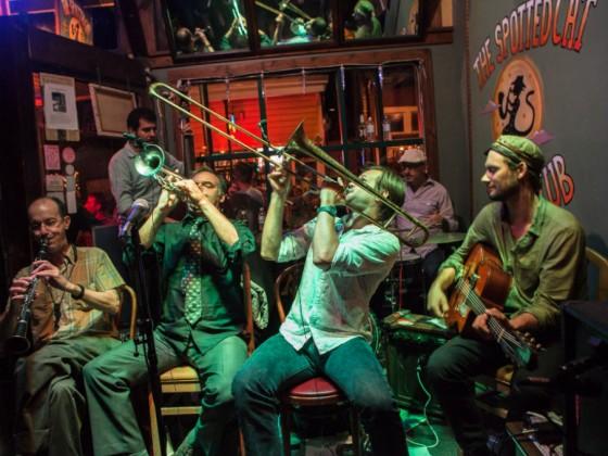 Jumbo Shrimp Jazz Band [Photo courtesy the band]