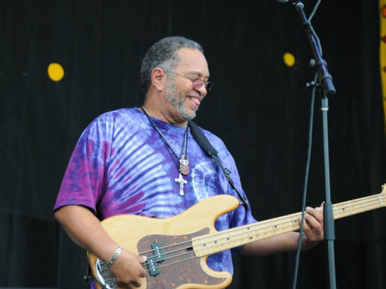 George Porter, Jr. will perform at 'Foundation of Funk & Dumpstaphunk' on New Year's Eve [Photo by Black Mold]