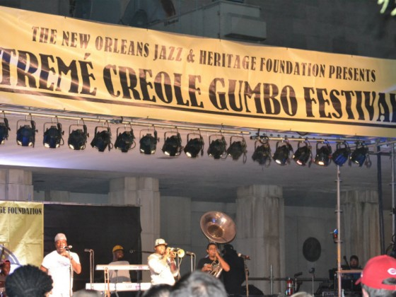 Treme Creole Gumbo Festival [Photo by Henry York]