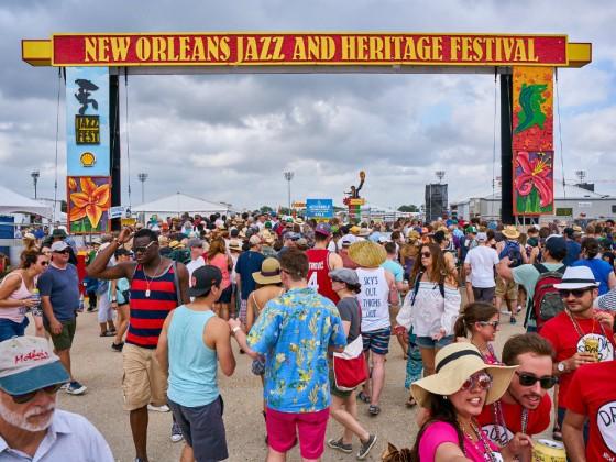 Jazz Fest [Photo by Eli Mergel]