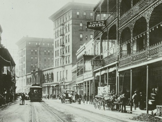 St. Charles Avenue [Image courtesy Europeana Collections]