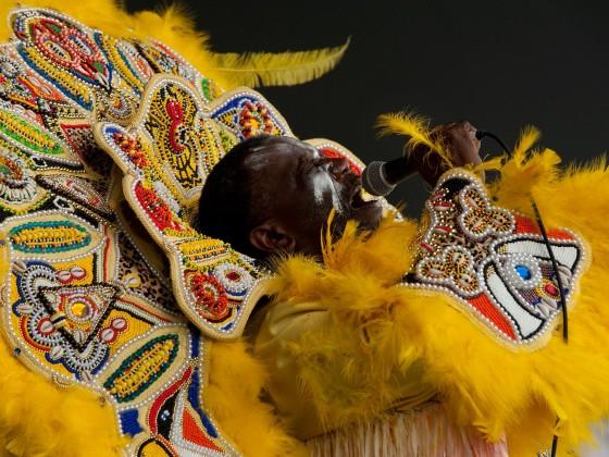 Big Chief Victor Harris [Photo by Ryan Hodgson-Rigsbee]