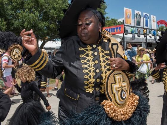 VIP Ladies at Jazz Fest 2019 [Photo by Ryan Hodgson-Rigsbee]