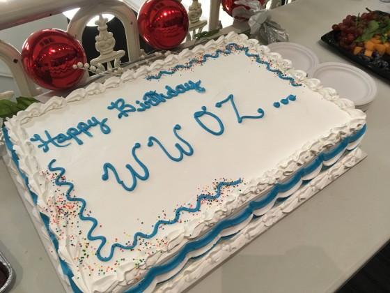 906 WWOZ Birthday Cake