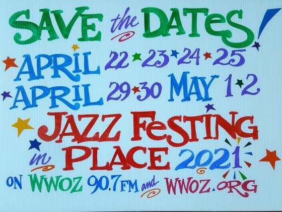 Jazz Festing In Place 2021 [Artwork by Nan Parati]