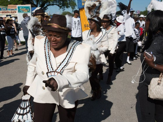 Ladies of Unity at Jazz Fest 2016 [Photo by Ryan Hodgson-Rigsbee]