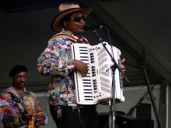 Nathan & the Zydeco Cha Chas [Photo by Bill Sasser]