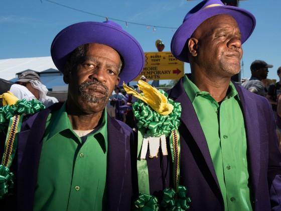 Single Men at Jazz Fest 2016 [Photo by Ryan Hodgson-Rigsbee]
