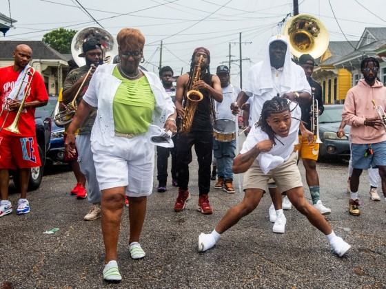 Perfect Gentlemen Second Line Parade [Photo by Ryan Hodgson-Rigsbee]