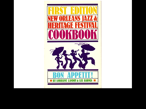 New Orleans Jazz & Heritage Festival Cookbook cover