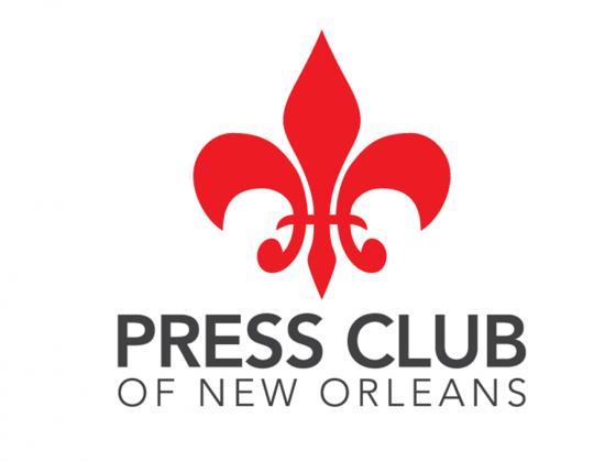 Press Club of New Orleans logo