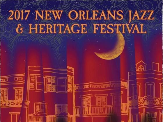 Jazz Fest 2017 poster