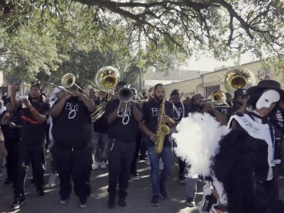 New Generation Second Line Parade [Photo by Charlie Steiner]