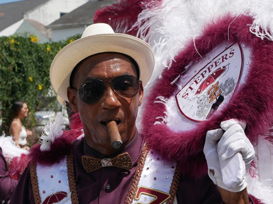 Second Line photo by Louis Crispino