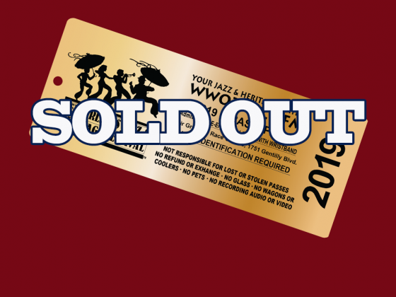 Brass Pass sold out