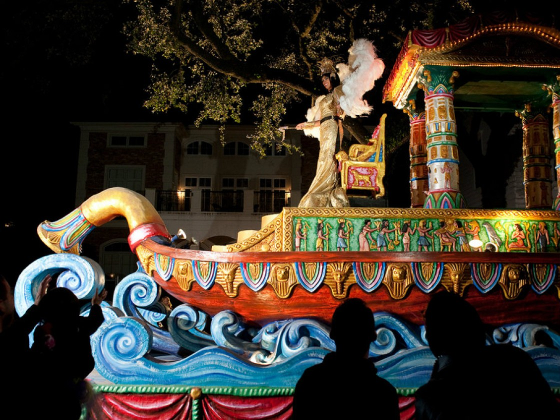 Krewe of Cleopatra [Photo by Ryan Hodgson-Rigsbee]