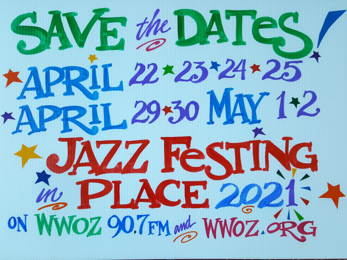 Jazz Festing In Place 2021 [Artwork by Nan Parati]