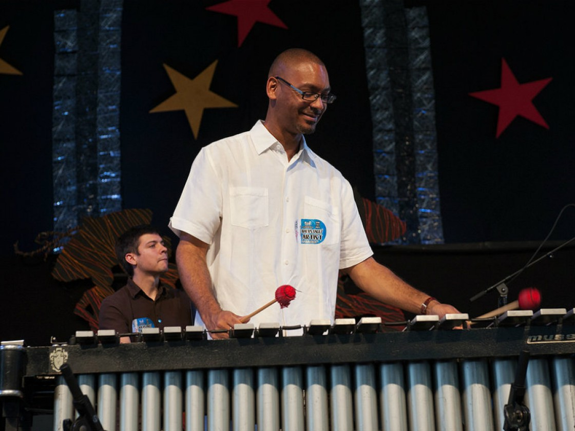 Jason Marsalis [Photo by Ryan Hodgson-Rigsbee]