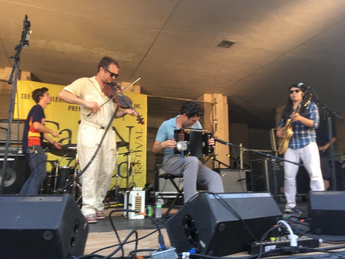 Lost Bayou Ramblers [Photo by Carrie Booher]