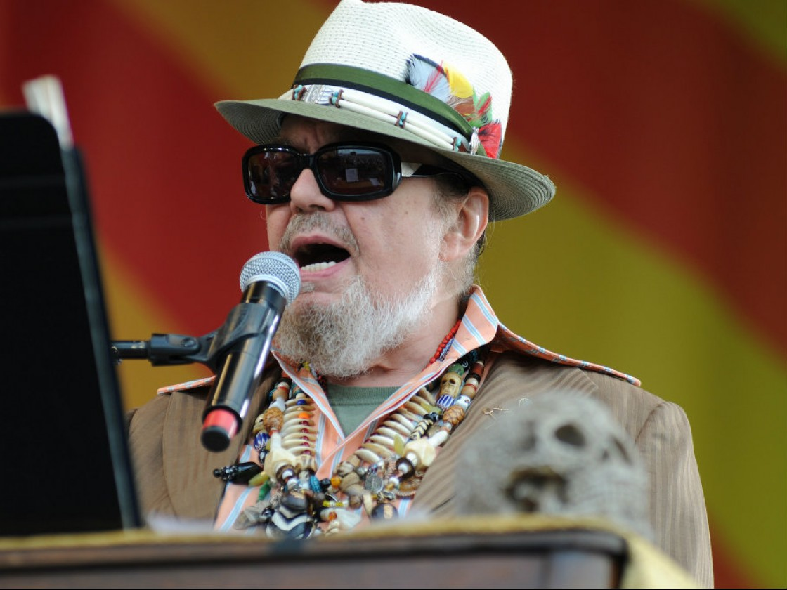 Dr. John in 2012 [Photo by Leon Morris]