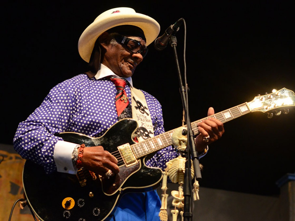 Little Freddie King [Photo by Hunter King]