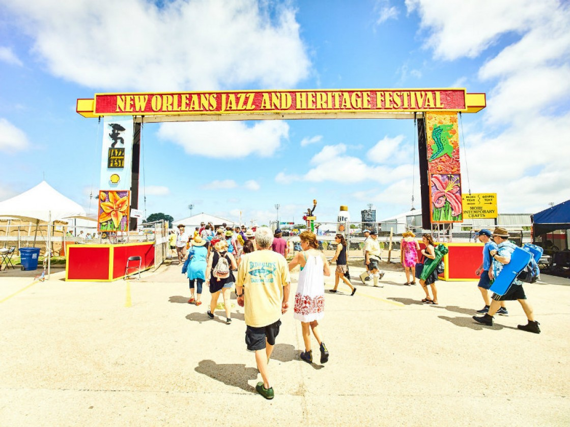 Jazz Fest 2016 [Photo by Eli Mergel]