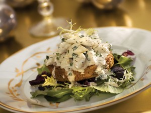 Fried Green Tomatoes with Crabmeat Rémoulade