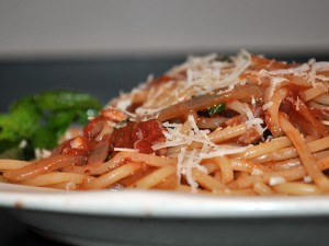 Marc Stone's Pasta all'Amatriciana