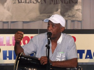 Bill Summers Allison Miner Interview Jazz Fest 2012