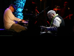 Jesse McBride and Ellis Marsalis