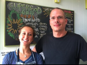 Superfood Team: Amie Havens & Joseph Stone