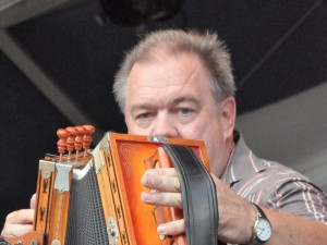Bruce Daigrepont Cajun Band at Jazz Fest 2012. Photo by Kichea S Burt.