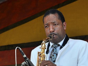 Donald Harrison at Jazz Fest 2011. Photo by Stafford.