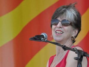 Marcia Ball at Jazz Fest 2012. Photo by Kichea S. Burt.