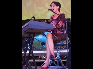 Marcia Ball at Voodoo Fest 2012. Photo by Melanie Merz.
