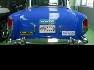 Car rear view
