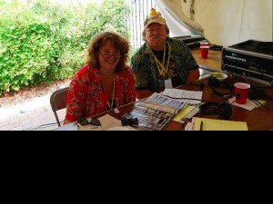 WWOZ show hosts Missy Bowen and Big D