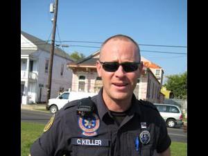 EMS paramedic Chris Keller