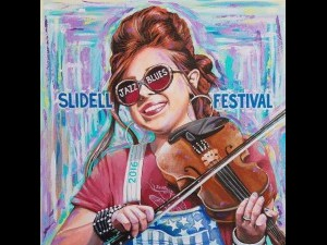 Amanda Shaw is featured on this year's poster. Artist: Adam Sambola.