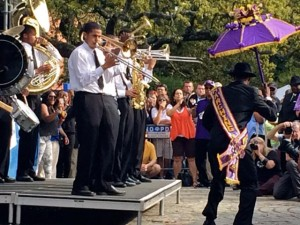 St Augustine High School brass band