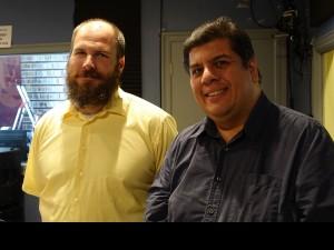 Scott Borne and Jorge Fuentes